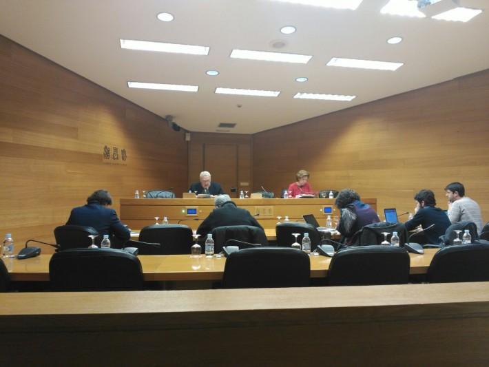 COMPARECENCIA DEL PRESIDENTE DE LA COMUNIDAD, D. JOSE PASCUAL, EN LES CORTS VALENCIANES